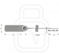 Сучасні пломби ФАСТ 220 зі штрих-кодом