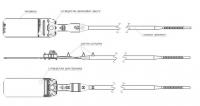 АЛЬФА-3.8 - пломба для автотранспорту, 420 мм, ∅ 3,8 мм