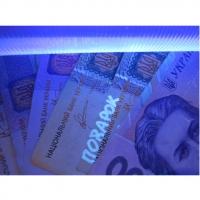 Детектор валют - ліхтар ультрафіолетовий + 4 батарейки в комплекті