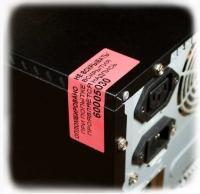 Індикаторна пломба-наклейка 20х50мм