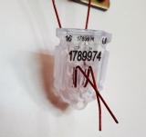 Трос пломбувальний семижильный 0,6 мм в ПВХ ізоляції, в бобіні 100м