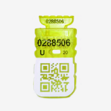 Пломба охоронна СІЛТЕК-М + біле поле для штрих-коду, QR-code або логотипу