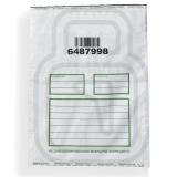 Сейф-пакети 296х400мм, code 39, три квитанції відривні