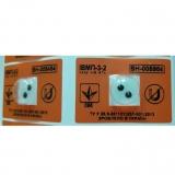 Антимагнітним пломба ІВМП-3-2. Поріг чутливості - 100 млТл. Опт по 6,60 грн. без ПДВ. Магнет.